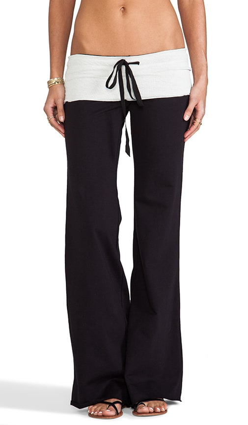 French Terry Wide Leg Pant