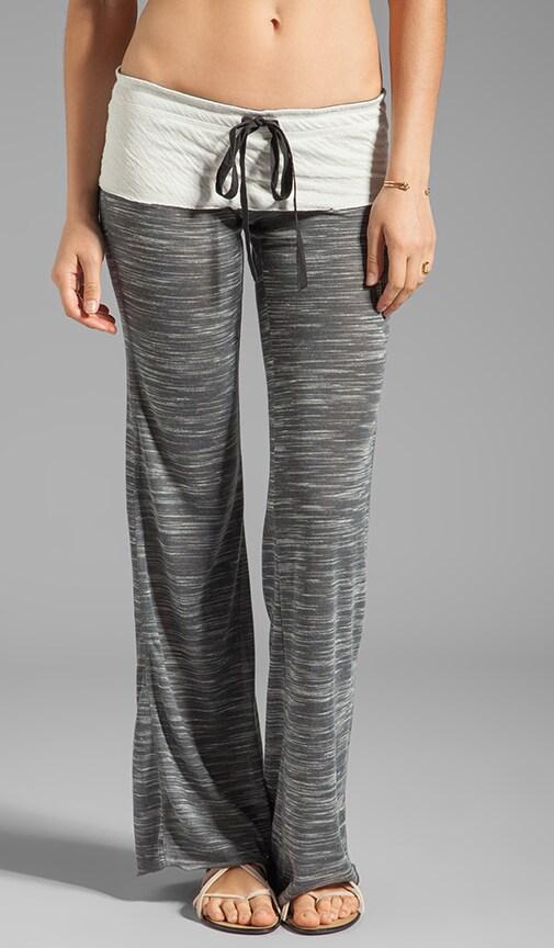 Wide Leg Space Dye Pant