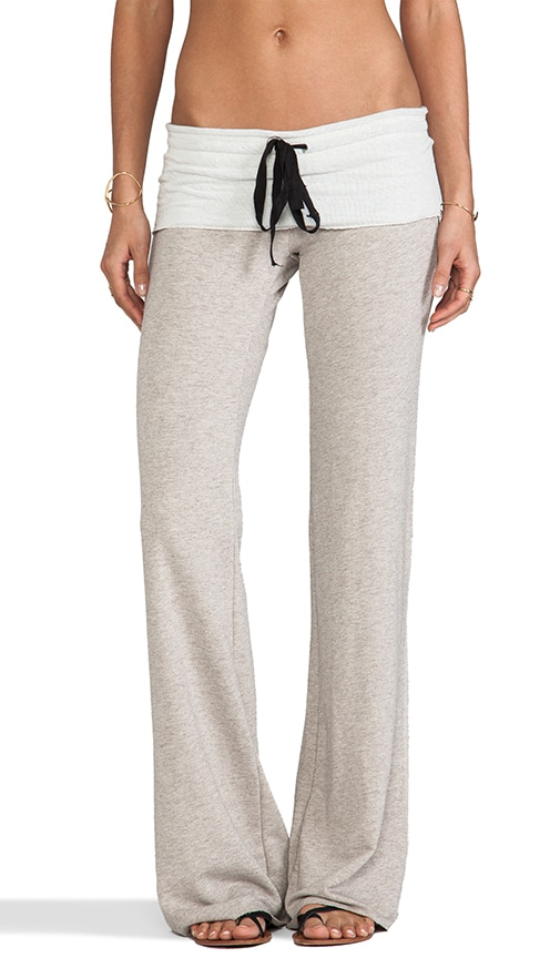 Wide Leg French Terry Sweatpant