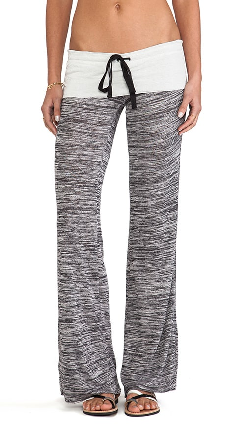 Wide Leg Space Dyed Sweatpants