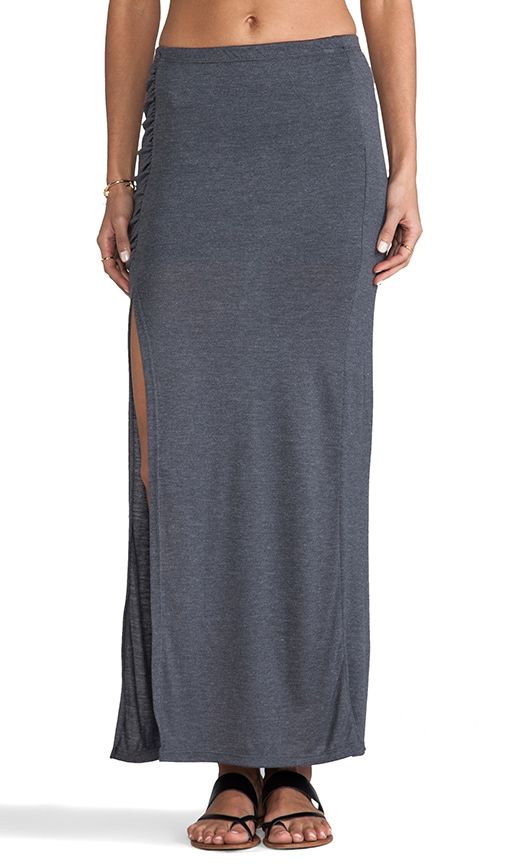 High Slit Maxi Skirt