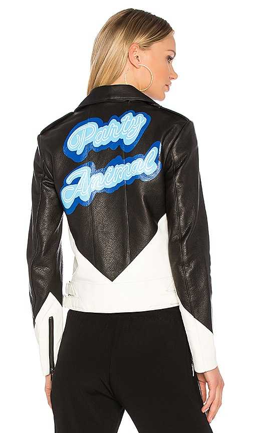 The Mighty Company x REVOLVE The Vienne Party Animal Jacket in Black