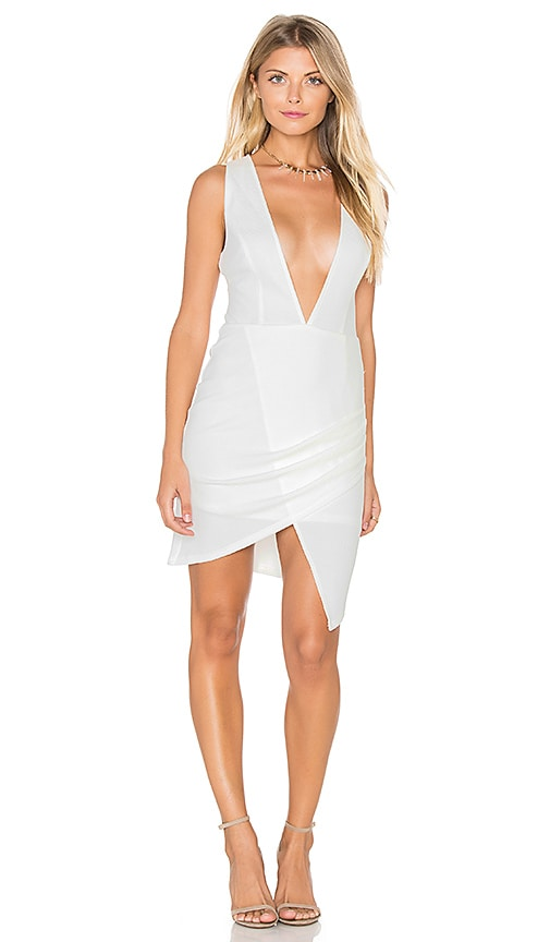tiger Mist Bianca Dress in White