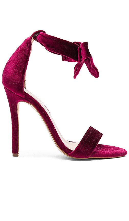 The Mode Collective Sage Sandal in Burgundy