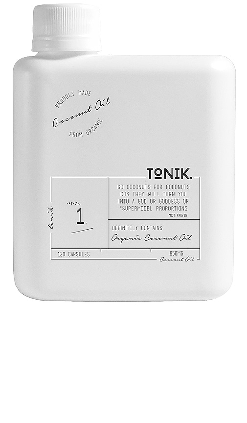 COMPLEMENTO NO.1 ORGANIC COCONUT OIL CAPSULES