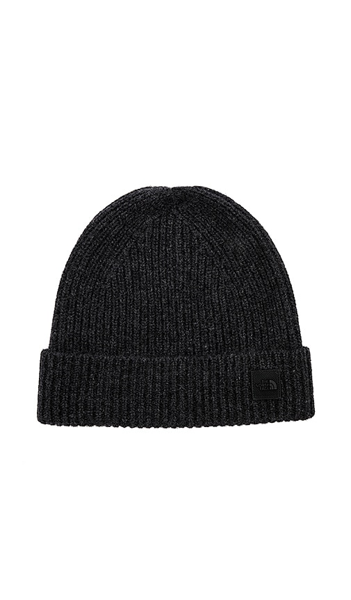 14790f4aa The North Face Cryos Cashmere Beanie in TNF Black Heather | REVOLVE