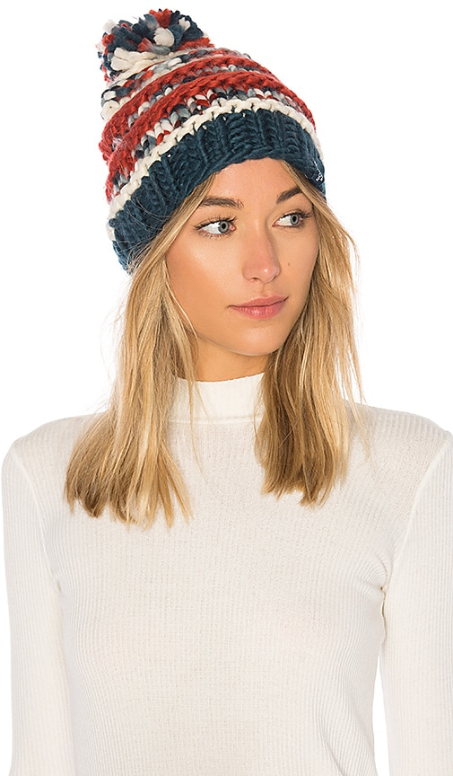 1f47ed09884ce0 The North Face Nanny Knit Beanie in Monterey Blue | REVOLVE