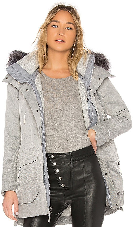 The North Face Cryos GTX Faux Fur Jacket in Gray