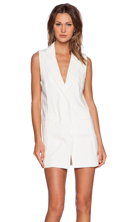 Toby Heart Ginger x Love Indie Camilla Vest Dress in White