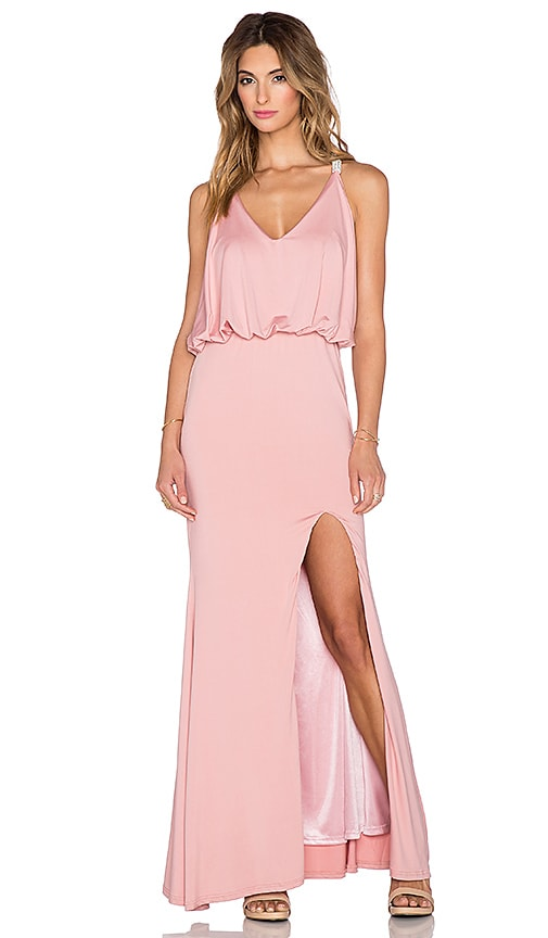 Toby Heart Ginger x REVOLVE Jewel T-Back Dress in Pink