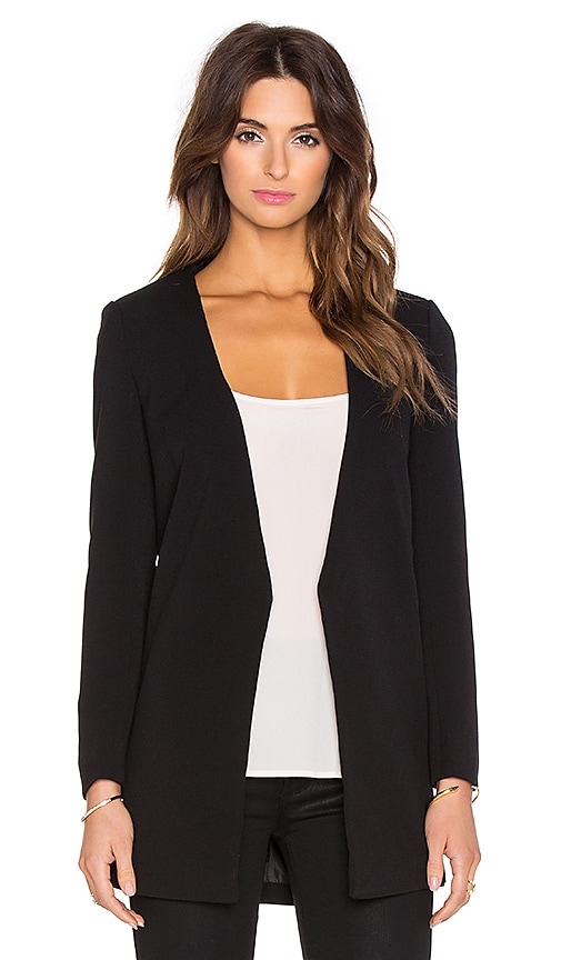 Toby Heart Ginger x Love Indie Banks Tailored Jacket in Black