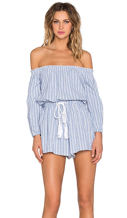 8f79837786a Sailing Off The Shoulder Romper. Sailing Off The Shoulder Romper. Toby  Heart Ginger