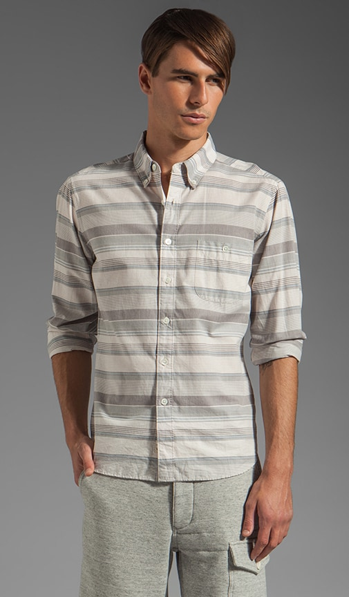 Varigated Horizontal Stripe Shirt