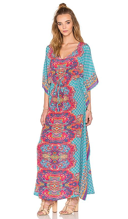 Tolani Kimi Dress in Turquoise