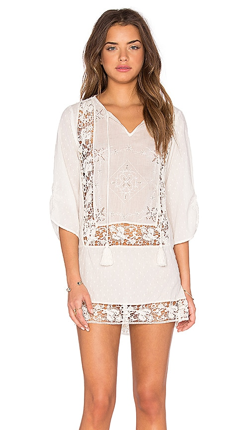 Tolani Sasha Shift Dress in White