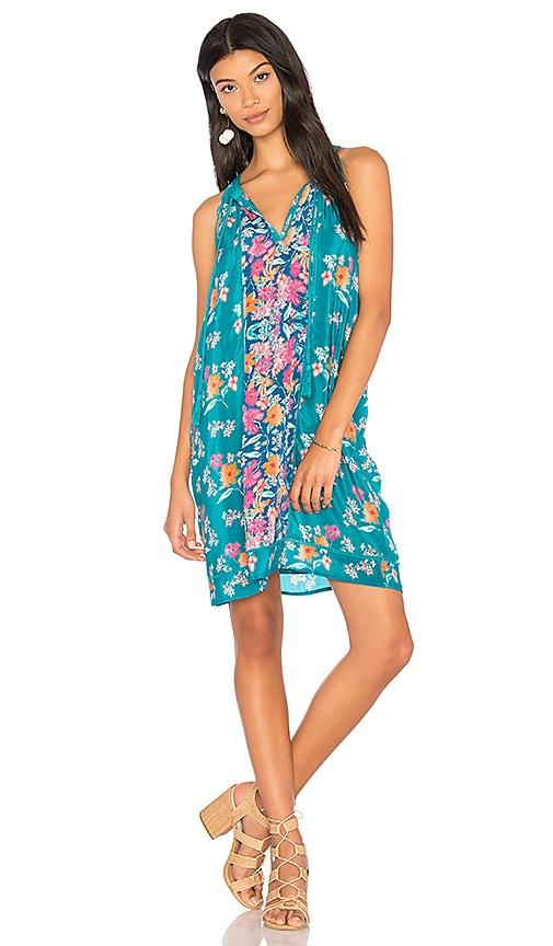 Tolani Savannah Mini Dress in Blue