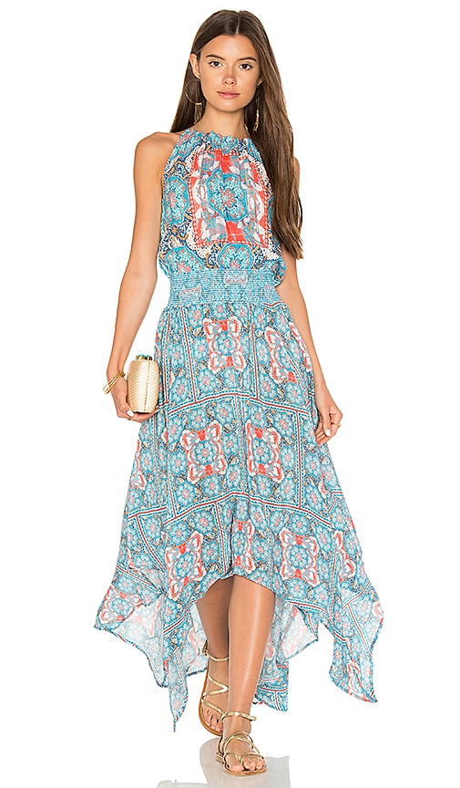 Tolani Tamara Maxi Dress in Blue