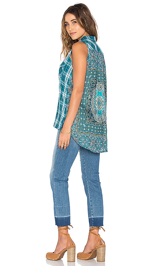 Tolani Mia Top in Teal