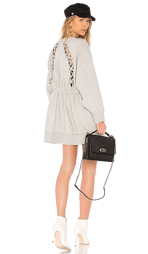 78ab117bd0e Tommy Hilfiger TOMMY X GIGI Gigi Hadid Open Back LS Sweatshirt Dress ...