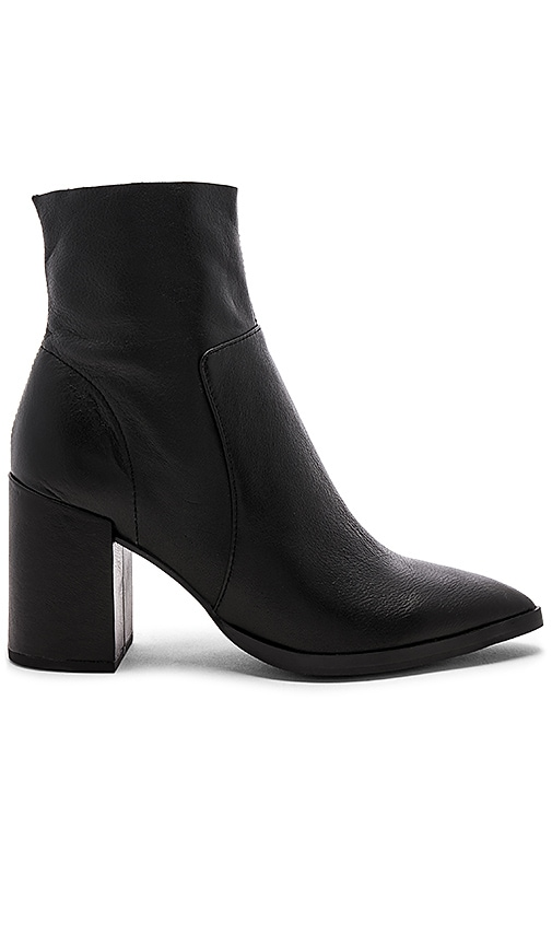 Brazen Bootie In Black Luxe by Tony Bianco