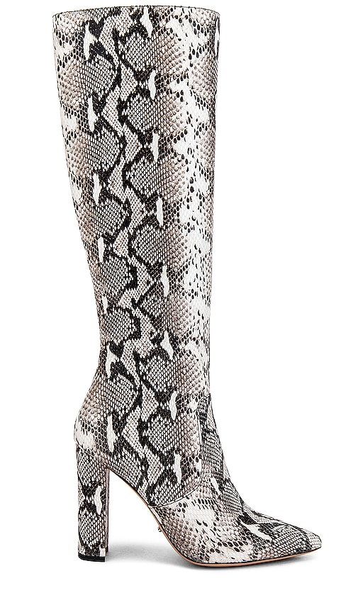 Tony Bianco Lexie Boot in Natural Snake