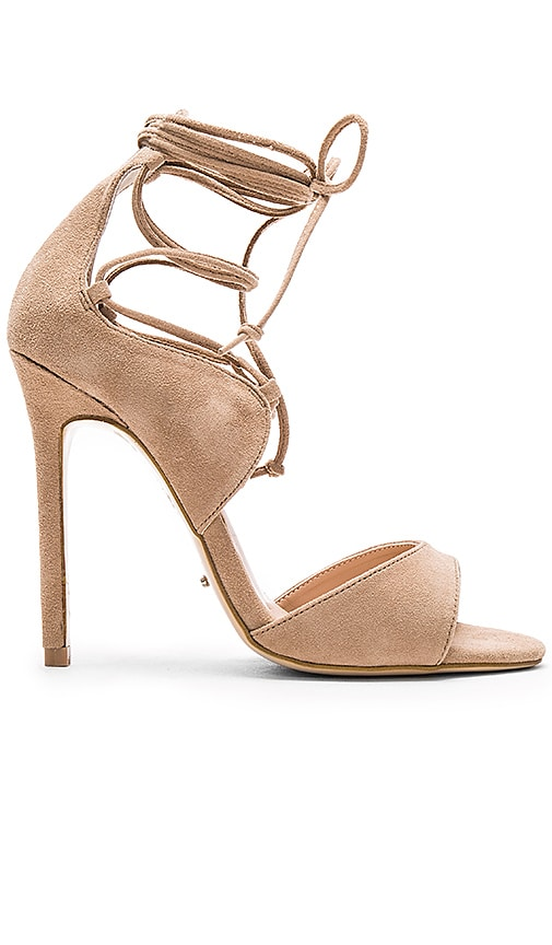 Tony Bianco Karim Heel in Coyote Kid Suede