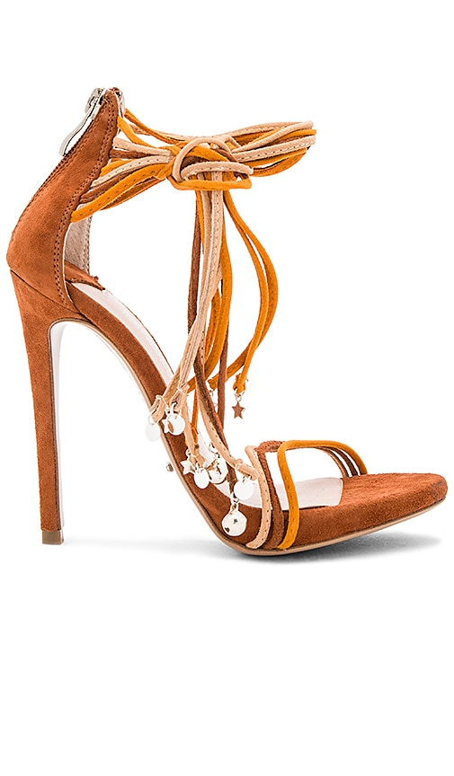 Tony Bianco x BEC&BRIDGE Alexis Heel in Burnt Orange