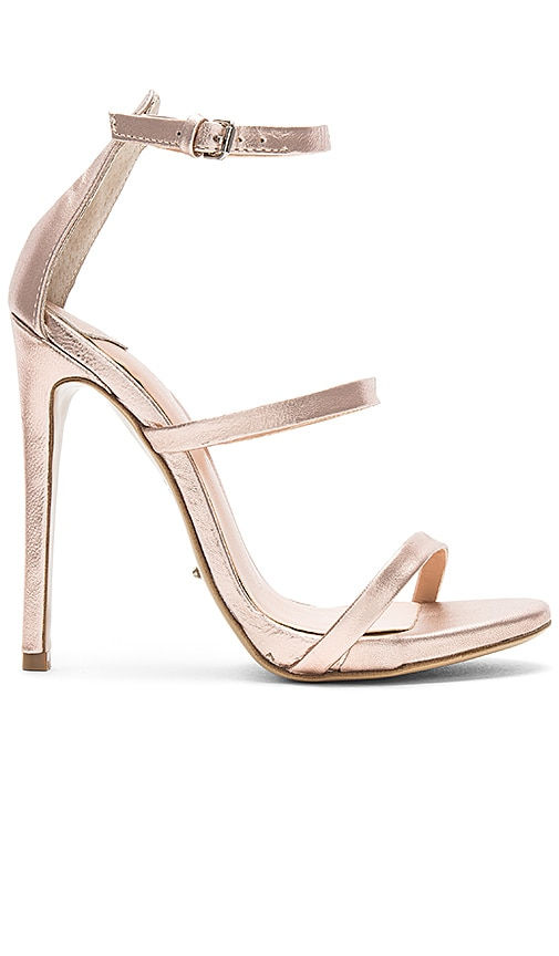 Tony Bianco Atkins Heel in Metallic Gold