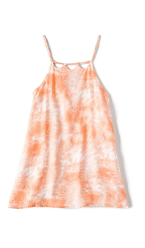 Tori Praver Swimwear Keiki Kora Dress in Coral