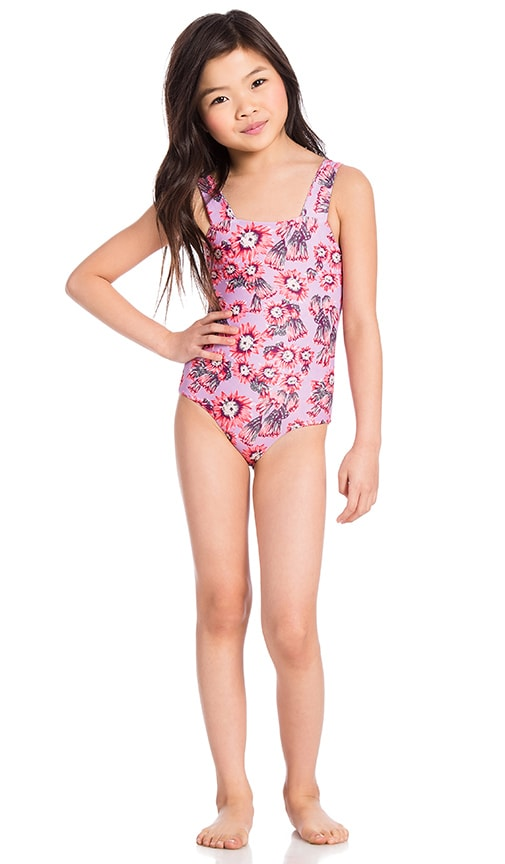 Tori Praver Swimwear Keiki Escondido One Piece in Pink