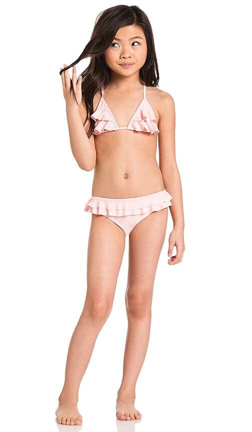 Tori Praver Swimwear Keiki Hula Bikini in Ginger