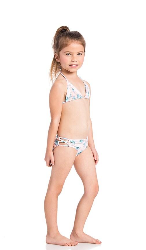 Tori Praver Swimwear Keiki Lahaina Bikini in Wild Agave Ginger