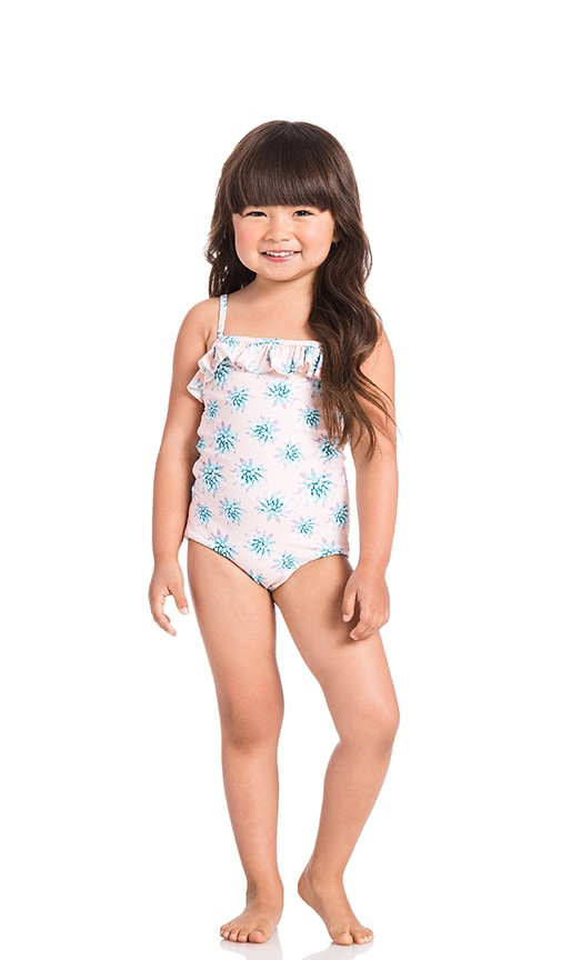 Tori Praver Swimwear Keiki Lolita One Piece in Blush