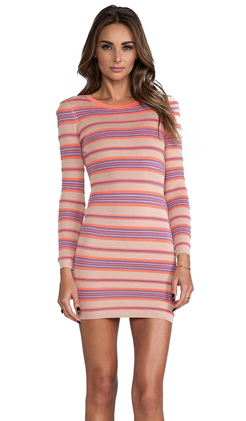 Malena Ottoman Stripes Dress