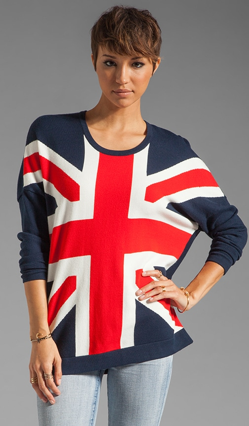 Anthea Union Jack Sweater