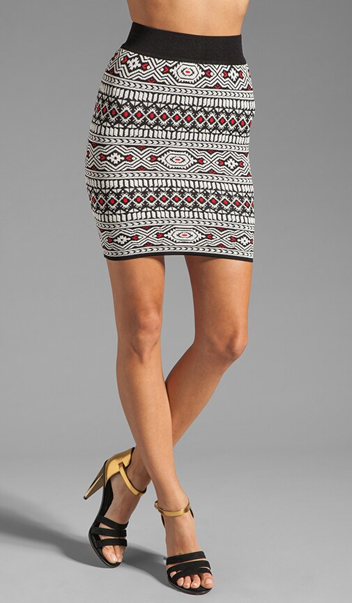 Celine Tribal Jacquard Skirt