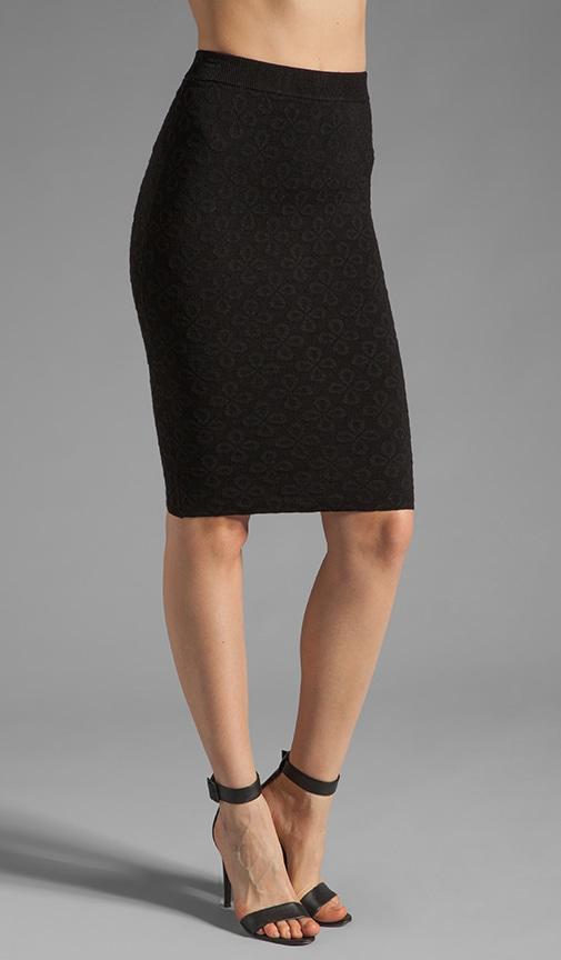 Celeste Eyelet Jacquard Skirt