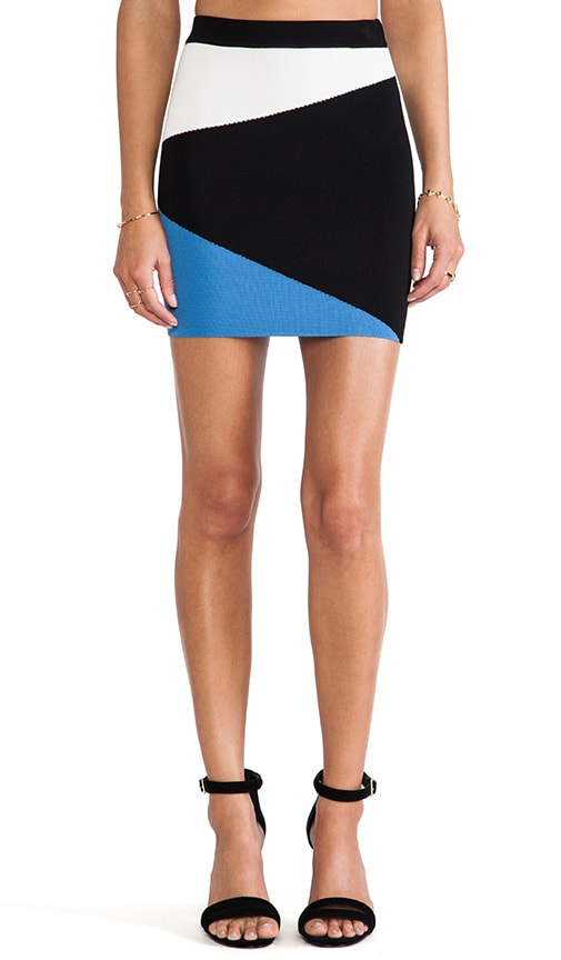 Mali Color Block Skirt