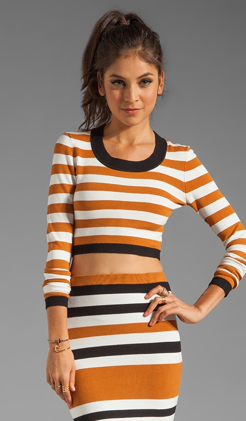 Emma Cruise Stripe Long Sleeve Top