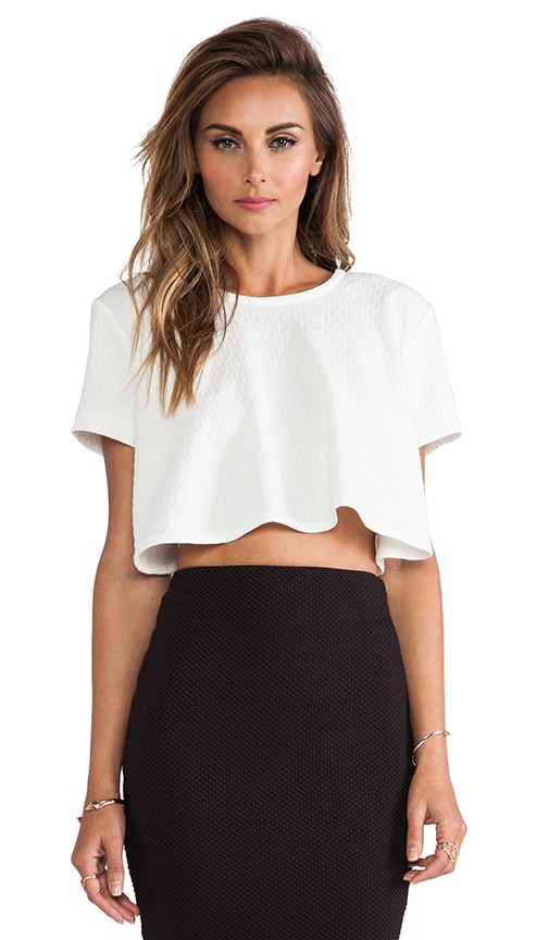 Lena Textured Top
