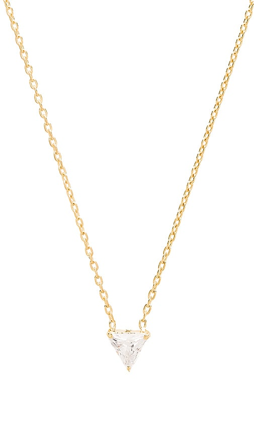 TORCHLIGHT Summer Triangle Necklace in Gold