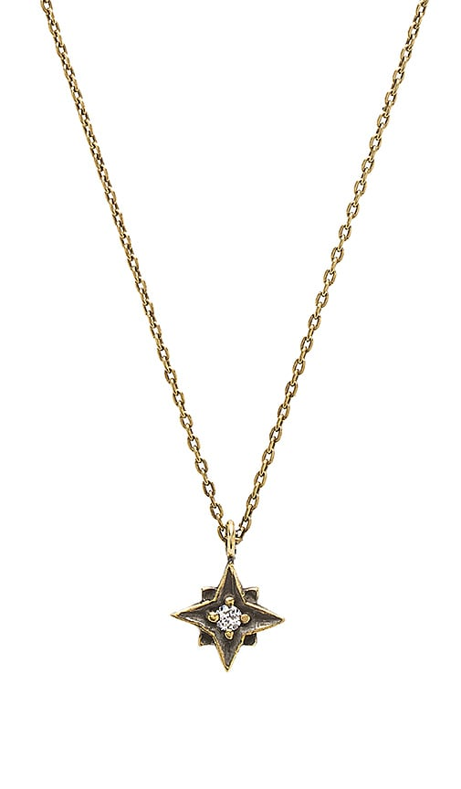TORCHLIGHT North Star Necklace in Brass