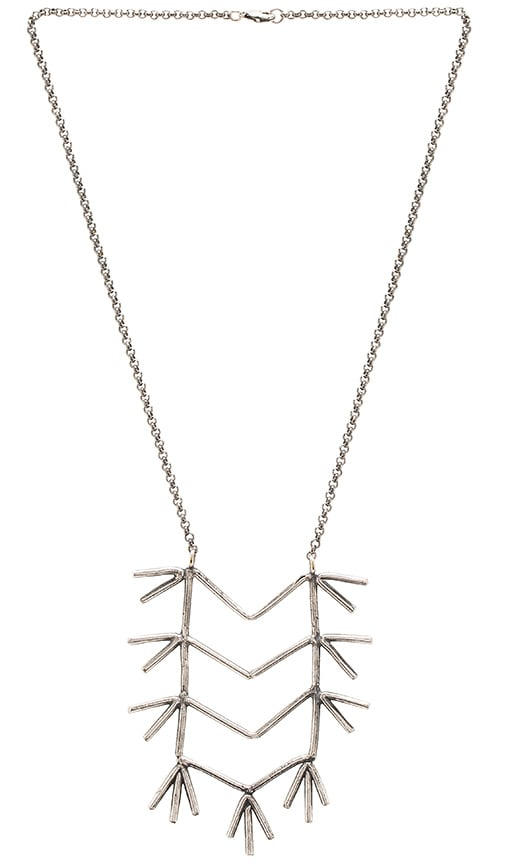 TORCHLIGHT Epiphany Necklace in Metallic Silver