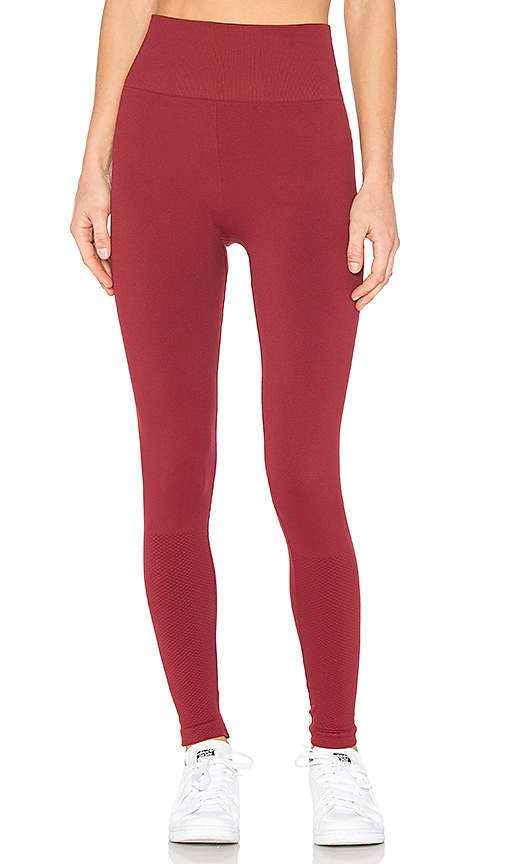 Touche LA x MORGAN STEWART Kelly Legging in Red