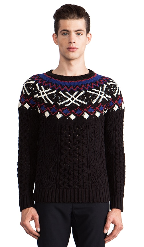 Alan Fair Isle Sweater