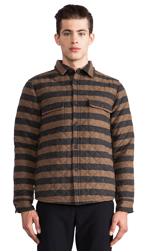 Ed Quilted Shirt Jacket