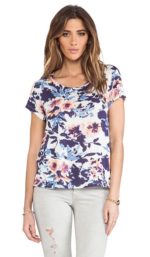 Lattice Floral T-Shirt
