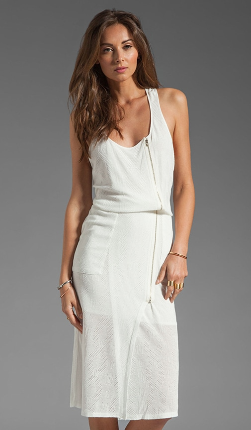 Cable Jersey Tank Dress
