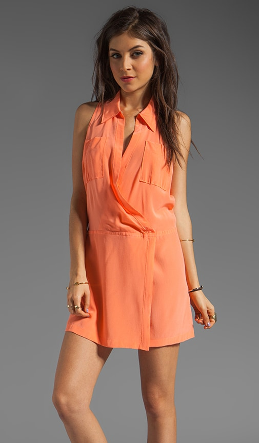 Soft Solids Blouson Shirtdress