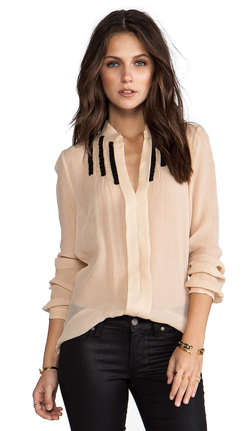 Soft Solids Inset Shirt